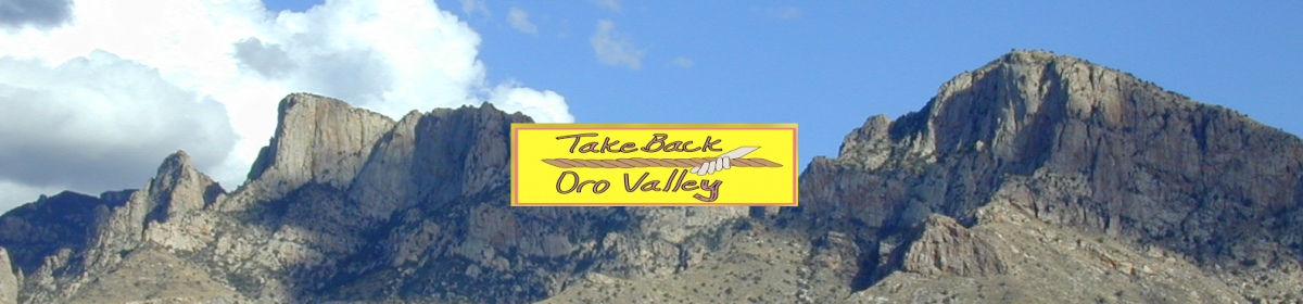 Take Back Oro Valley